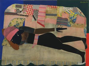 Romare Bearden collage