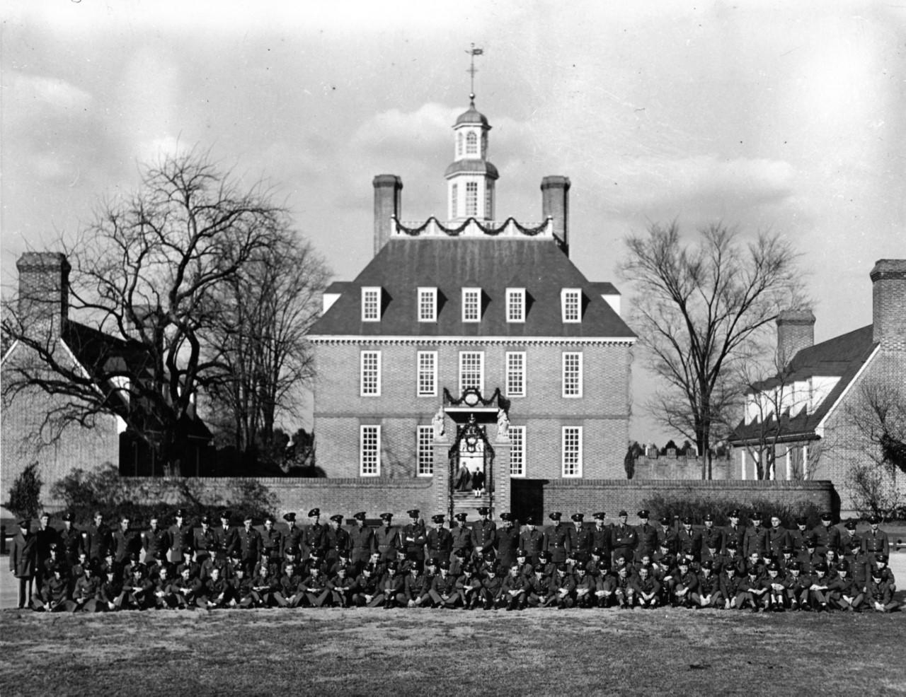 World War II-Era Colonial Williamsburg
