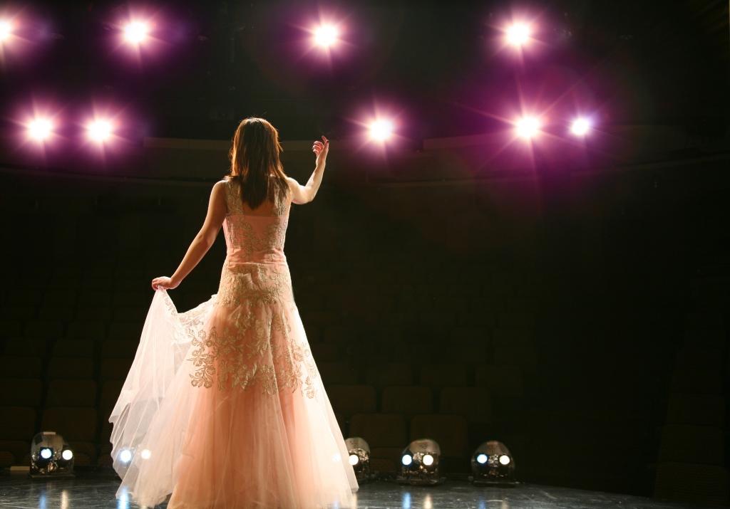 Opera Singer on Stage