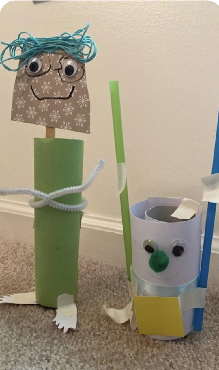 Craft tube character