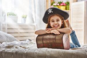 Girl in a Pirate Costume