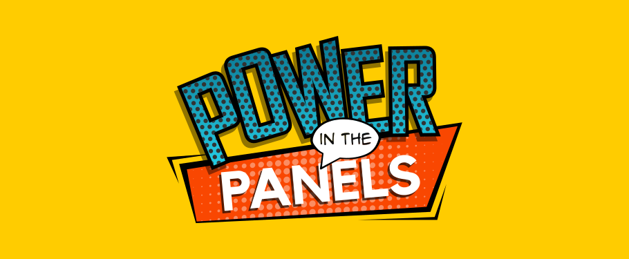 Power in the Panels Book Group Logo