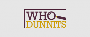 WhoDunnits Book Group Logo