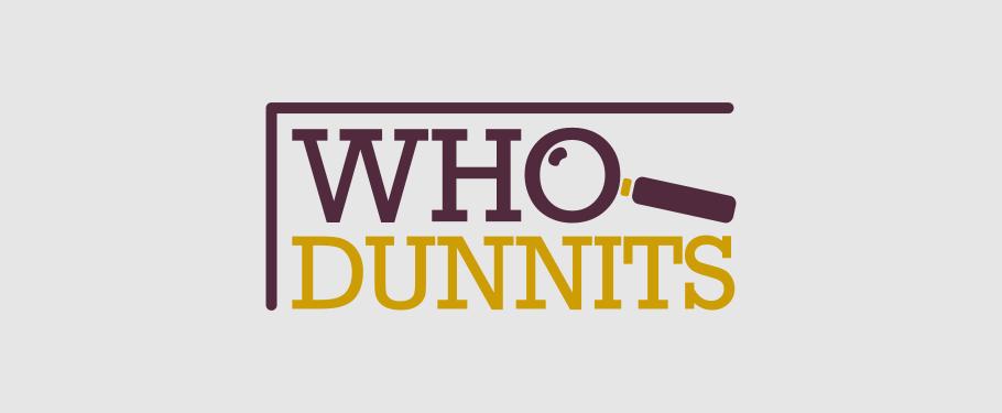 WhoDunnits Book Group Logo