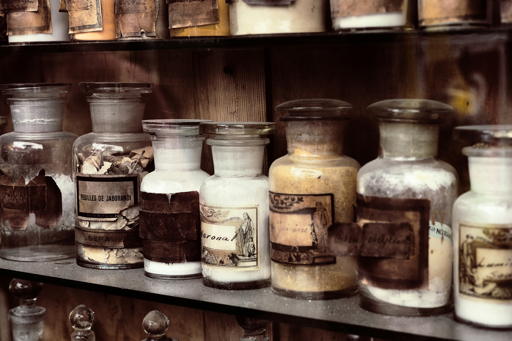 Historical Apothecary Jars