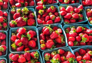 Boxes Of Strawberries
