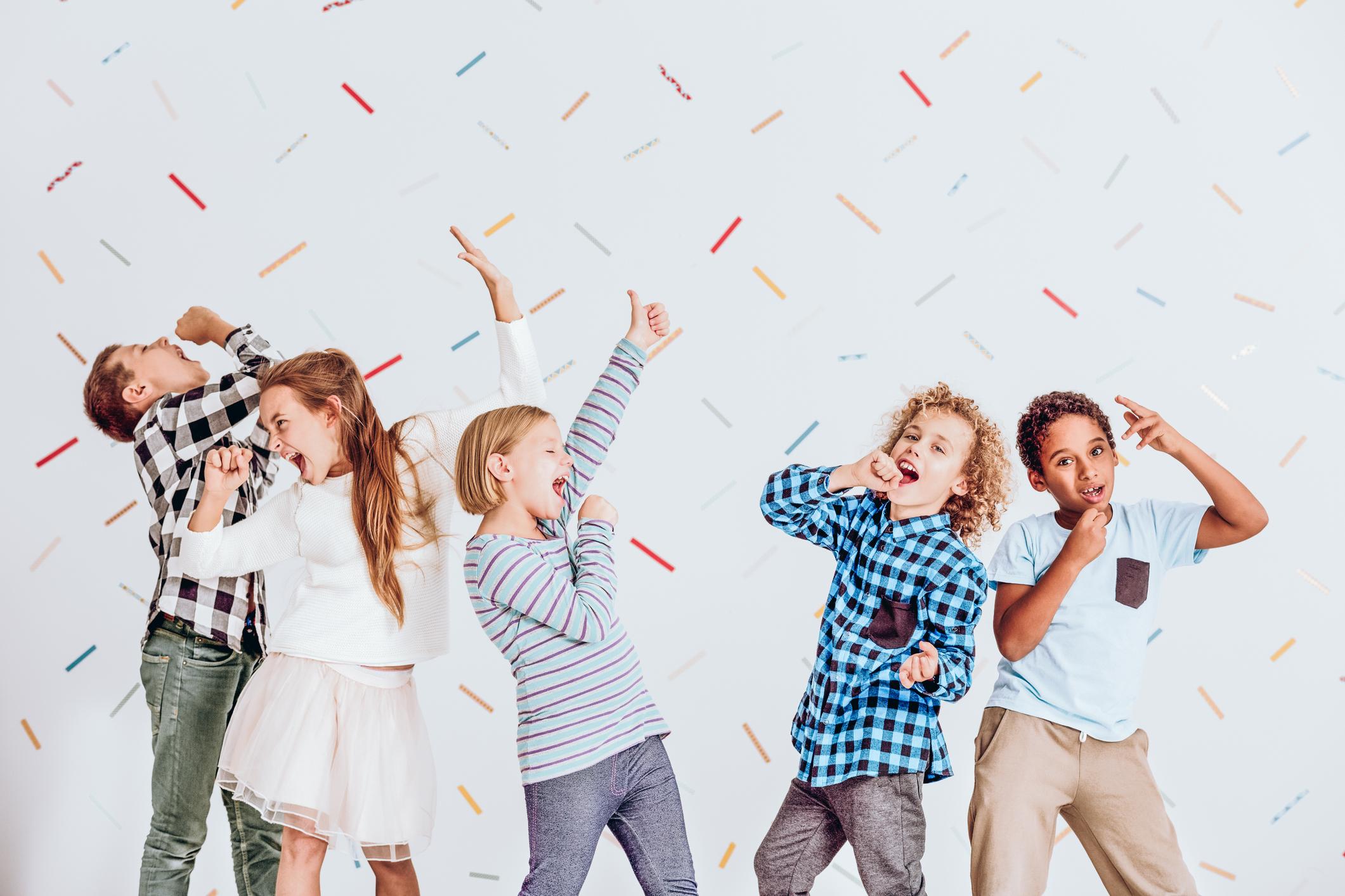 Kids Singing Along To Music